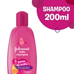 SHAMPOO JOHNSON BABY GOTAS DE BRILLO X 200 ML.