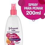 SPRAY PARA CABELLO JOHNSON BABY GOTAS DE BRILLO X 200 ML.