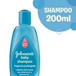 SHAMPOO JOHNSON BABY CABELLO PERFUMADO X 200 ML.
