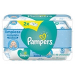 TOALLAS HUMEDAS PAMPERS BABYWIPES X 96 UN.