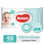 TOALLA HUMEDA HUGGIES ONE & DONE X 48 UN.