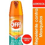REPELENTE OFF SECO AEROSOL X 114 ML.