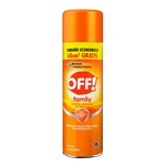 REPELENTE OFF FAMILY ACTIVE BONUS AEROSOL X 300 ML.