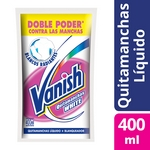 PRELAVADO VANISH WHITE DOY PACK X 400 ML.