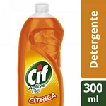 DETERGENTE CIF ACTIVE GEL CITRICA X 300 ML.