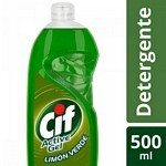 DETERGENTE CIF ACTIVE GEL CORE LIMON VERDE X 500 ML.