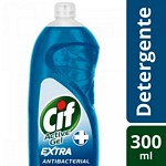 DETERGENTE CIF ACTIVE GEL ANTIBACTERIAL X 300 ML.