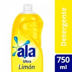DETERGENTE ALA ULTRA LIMON X 750 ML.