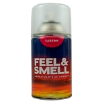 DESODORANTE DE AMBIENTE FEEL & SMELL FARENH REPUESTO X 270 ML.