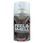 DESODORANTE DE AMBIENTE FEEL & SMELL PUMA REPUESTO X 270 ML.