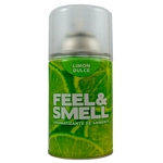 DESODORANTE DE AMBIENTE FEEL & SMELL LIMON DULCE REPUESTO X 270 ML.