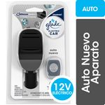 DESODORANTE DE AMBIENTE GLADE ELECTRIC CAR AUTO NUEVO FULL X 3.2 ML.