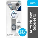 DESODORANTE DE AMBIENTE GLADE ELECTRIC CAR AUTO NUEVO REPUESTO X 3.2 ML.