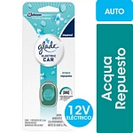 DESODORANTE DE AMBIENTE GLADE ELECTRIC CAR ACQUA REPUESTO X 3.2 ML.