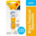 DESODORANTE DE AMBIENTE GLADE ELECTRIC CAR BRISA TROPICAL REPUESTO X 3.2.ML.