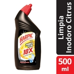 LIMPIADOR HARPIC PARA INODORO POWER PLUS CITRUS X 500 ML.
