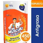 LIMPIADOR MR MUSCULO EXTRA POWER COCINA DOY PACK X 450 ML.