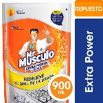 LIMPIADOR MR MUSCULO EXTRA POWER COCINA DOY PACK X 900 ML.