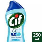 LIMPIADOR CIF GEL 2EN1 ORIGINAL X 250 ML.