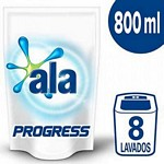 JABON LIQUIDO ALA PARA LA ROPA PROGRESS DOY PACK X 800 ML.