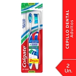 CEPILLO DENTAL COLGATE TRIPLE ACCION MEDIANO 2X1