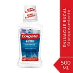 ENJUAGUE BUCAL COLGATE PLAX BLANQUEADOR X 500 ML.