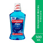 ENJUAGUE BUCAL COLGATE PLAX ICE X 500 ML.