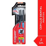 CEPILLO DENTAL COLGATE SLIM SOFT BLACK 2X1 X UN.