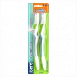 CEPILLO DENTAL PRO DOBLE ACCION MAYOR ALCANCE 2X1 X UN.