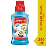 ENJUAGUE BUCAL COLGATE PLAX MINIONS X 250 ML.