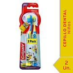 CEPILLO DENTAL COLGATE KIDS SMILES MINIONS + 6 AÑOS 2X1