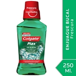 ENJUAGUE BUCAL COLGATE PLAX ICE GLACIAL X 250 ML.