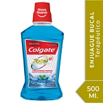 ENJUAGUE BUCAL COLGATE TOTAL CLEAN MINT X 500 ML.