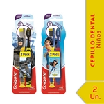 CEPILLO DENTAL COLGATE SMILES BATMAN/WONDER WOMAN X 2 UN.