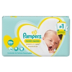 PAÑAL PAMPERS PREMIUM CARE RN X 56 UN.