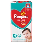 PAÑAL PAMPERS SUPERSEC M X 66 UN.