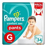 PAÑAL PAMPERS PANTS CS G X 34 UN.