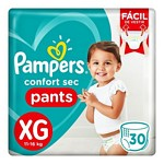 PAÑAL PAMPERS PANTS CS XG X 30 UN.