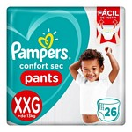 PAÑAL PAMPERS PANTS CS XXG X 26 UN.