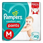 PAÑAL PAMPERS PANTS CS M X 40 UN.