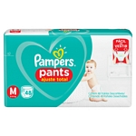 PAÑAL PAMPERS PANTS CONFORTSEC MED X 48 UN. (T)