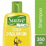 SHAMPOO SUAVE KIDS COCO PARLANCHIN X 350 ML.