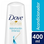 ACONDICIONADOR DOVE HIDRATACION INTENSA X 400 ML.