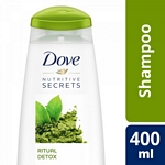 SHAMPOO DOVE DETOX X 400 ML.