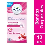 BANDAS DEPILATORIAS VEET CORPORAL NORMAL X 6 UN.