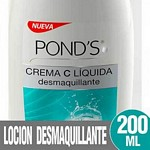 CREMA DESMAQUILLANTE PONDS X 200 ML.
