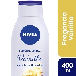CREMA CORPORAL NIVEA BODY ESSENCIA VAINILLA ALMENDRA OIL X 400 ML.
