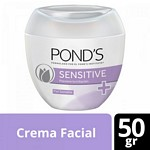 CREMA FACIAL PONDS SENSITIVE X 50 GR.