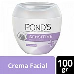 CREMA FACIAL PONDS SENSITIVE X 100 GR.