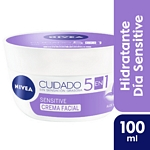 CREMA FACIAL NIVEA CUIDADO SENSITIVE X 100 ML.